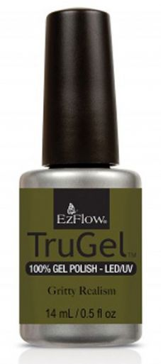 Ezflow Trugel Led/UV Gel Polish - Gritty Realism - 0.5oz/14ml